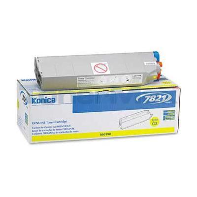 KONICA 7821 TYPE C3 TONER CARTRIDGE YELLOW